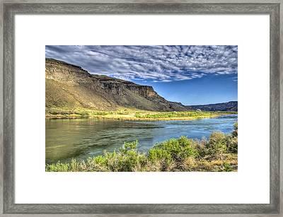 Snake River Afternoon Framed Print