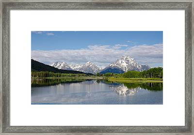 Snake River In Grand Teton  Framed Print
