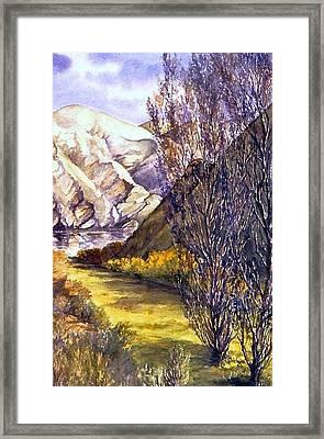 Snake River Landing Framed Print