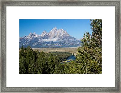 Snake River Overlook Framed Print