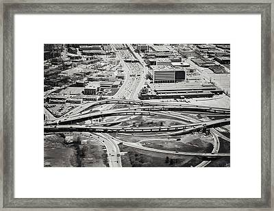 Snakes And Commuters Framed Print