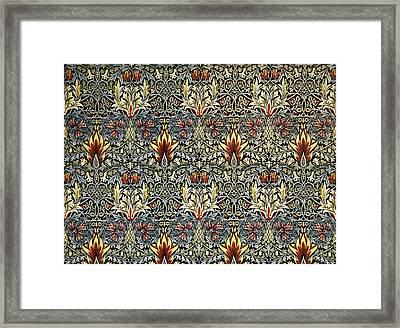 Snakeshead Framed Print by William Morris
