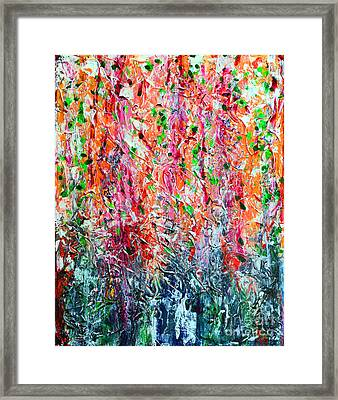 Snapdragons II Framed Print by Alys Caviness-Gober