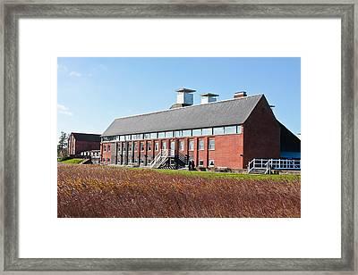 Snape Maltings Framed Print by Tom Gowanlock