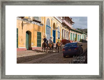 Framed Print featuring the photograph Snapshot In Trinidad by Juergen Klust