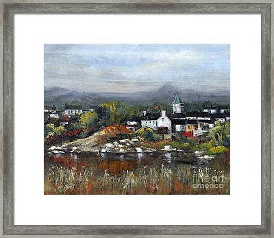 Kerry... Sneem Village  Framed Print