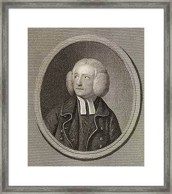 Sneyd Davies Framed Print by Middle Temple Library