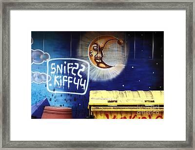 Snif Kiff Framed Print by John Rizzuto