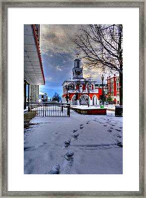 Historic 8 Framed Print