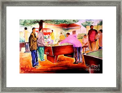 Snooker Guru  Framed Print