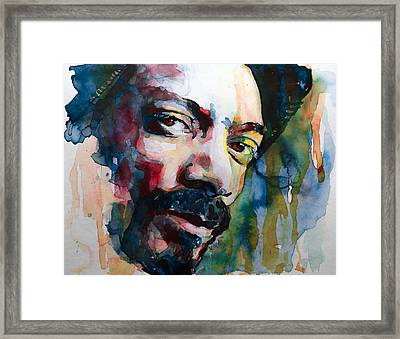 Snoop Dogg Framed Print