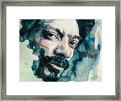 Snoop's Upside Ya Head Framed Print