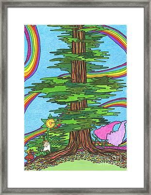 Snooze Framed Print by Mag Pringle Gire