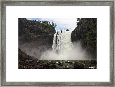 Snoqualmie Falls Framed Print by Mark Kiver