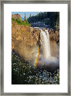 Snoqualmie Falls  Framed Print