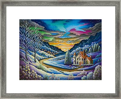 Snow Framed Print by Andy Russell