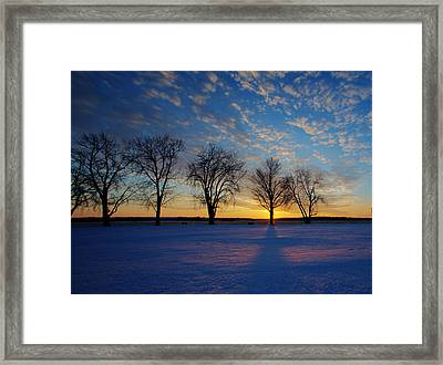 Snow Angel Framed Print by Chris Babcock