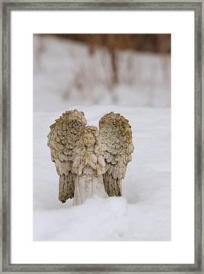 Snow Angel Framed Print by Daniel Kasztelan