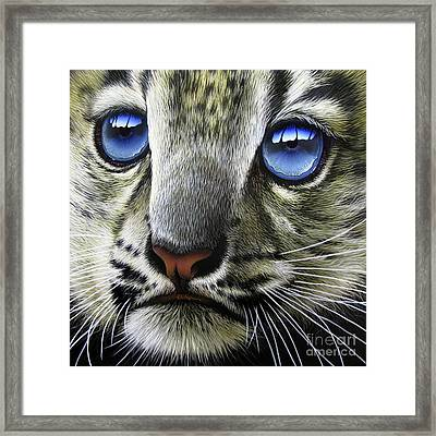 Snow Baby Framed Print by Jurek Zamoyski