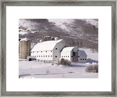 Snow Bound Framed Print