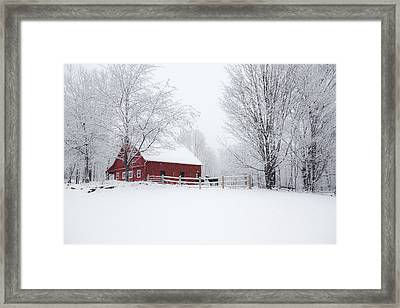 Snow Country Framed Print by Robert Clifford