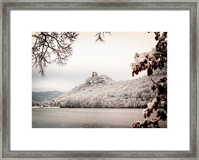 Snow Covered Sugarloaf Framed Print