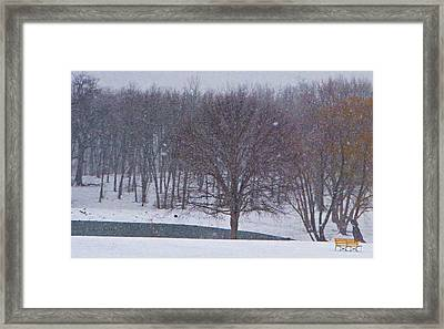 Snow Day Framed Print by Chris Berry