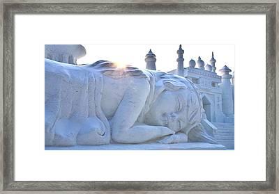 Snow Dreams Framed Print by Brett Geyer