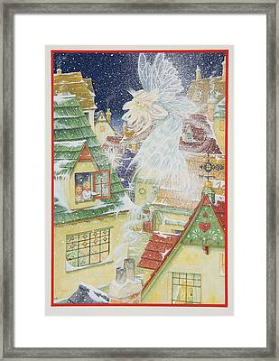 Snow Fairy Framed Print