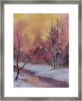 Winter Enchantment Framed Print