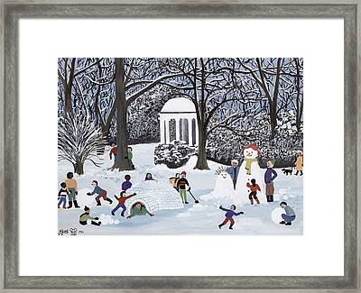 Snow Follies Framed Print