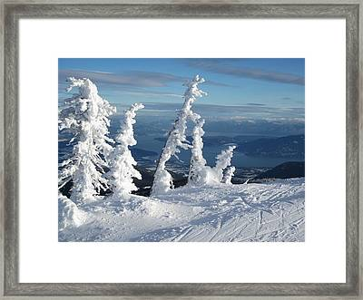 Snow Ghosts 1 Framed Print