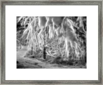 Snow Glow Framed Print by Dan Sproul