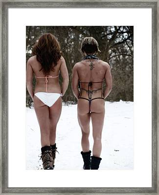 Snow Honey's   Framed Print