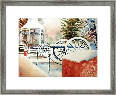Snow II Framed Print by Kip DeVore