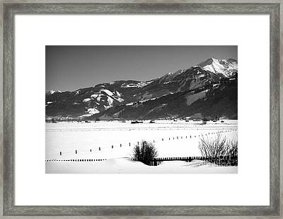 Snow In Piesendorf IIi Framed Print