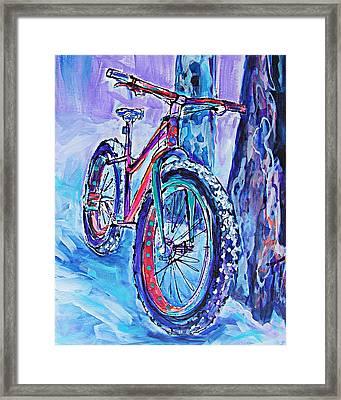 Snow Jam Framed Print