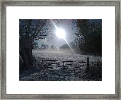 Snow Framed Print by James Bradley