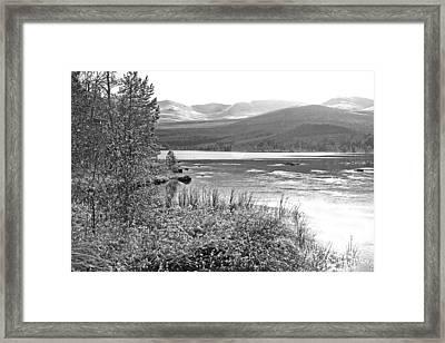 Snow On The Cairngorms Framed Print