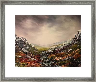 Snow On The Cairngorms Framed Print