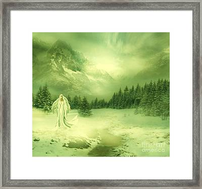 Snow Queen Framed Print by Ester  Rogers