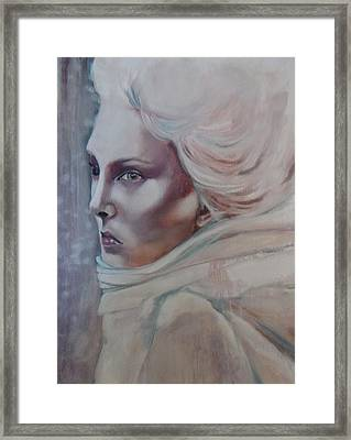Framed Print featuring the painting Snow Queen by Irena Mohr