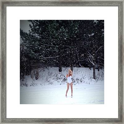 Snow Queen Framed Print by Lisa Piper
