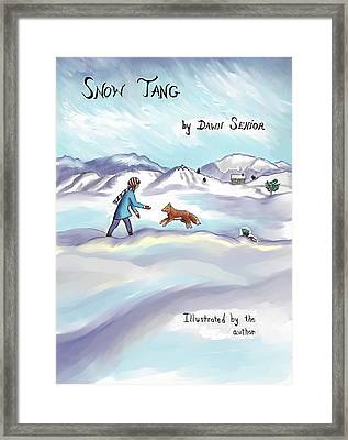 Snow Tang - Story Cover Age 12 Framed Print