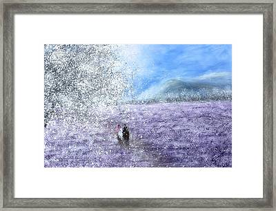 Snow Tree Framed Print by Kume Bryant