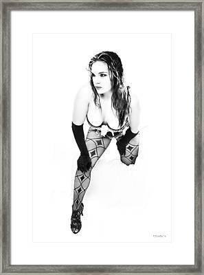 Snow White 2 Framed Print by Emile Steyn
