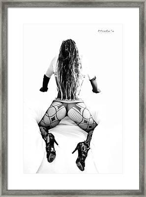 Snow White 8 Framed Print by Emile Steyn