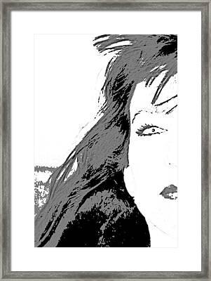 Snow White Framed Print by Joe Serrano