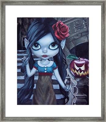 Snow White Framed Print by Lori Keilwitz