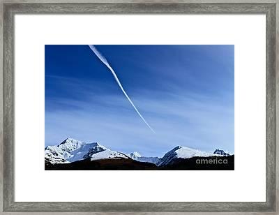 Snowbird Express Framed Print